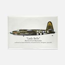 Lady Belle/Marauder Stuff Rectangle Magnet