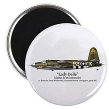 "Lady Belle/Marauder Stuff 2.25"" Magnet (10 pack)"