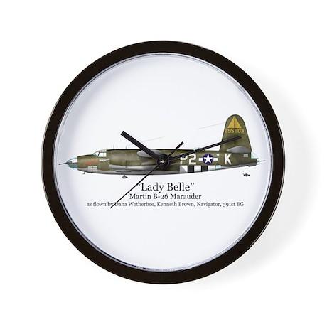 Lady Belle/Marauder Stuff Wall Clock