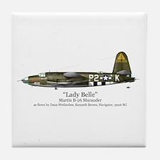 Lady Belle/Marauder Stuff Tile Coaster
