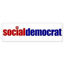 Social Democrat Bumpersticker