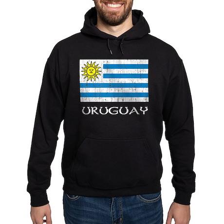 Uruguay Flag Hoodie (dark)