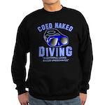 Coed Naked Diving Sweatshirt (dark)