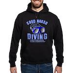 Coed Naked Diving Hoodie (dark)