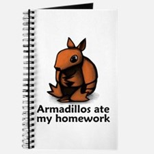 Armadillos ate my homework Journal