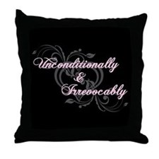Irrevocably In Love Twilight Throw Pillow