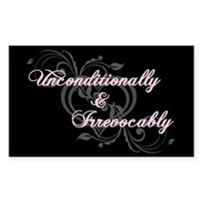 Irrevocably In Love Twilight Rectangle Decal
