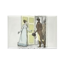 Pride & Prejudice Ch 46 Rectangle Magnet