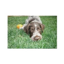 GWP Puppy Rescue Rectangle Magnet