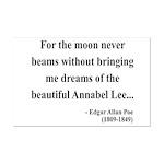 Edgar Allan Poe 22 Mini Poster Print