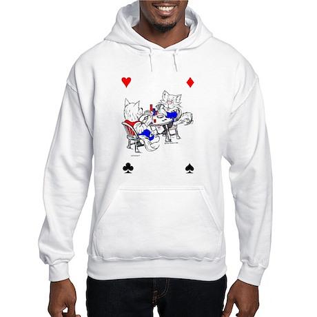 Catoons™ Poker Cats Hooded Sweatshirt