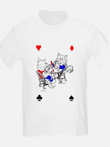 Catoons™ Poker Cats T-Shirt