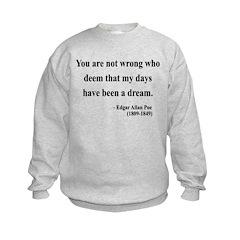Edgar Allan Poe 23 Sweatshirt