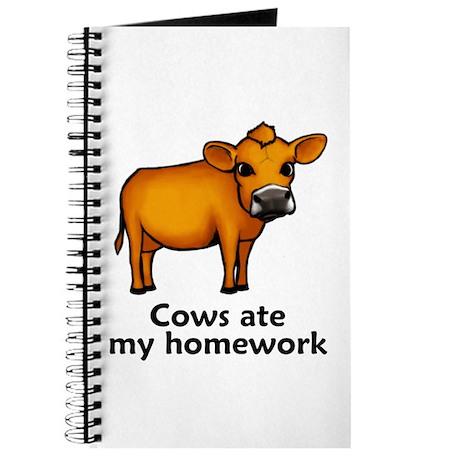 Cows ate my homework Journal