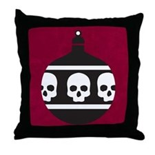 Funny Goth Throw Pillow