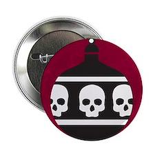 """Unique Skull 2.25"""" Button"""