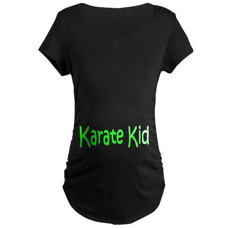 Karate Kid Maternity Dark T-Shirt
