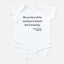 Edgar Allan Poe 24 Infant Bodysuit