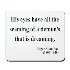 Edgar Allan Poe 24 Mousepad