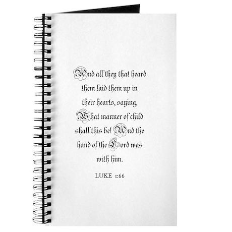 LUKE 1:66 Journal
