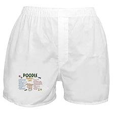 Poodle Property Laws 4 Boxer Shorts