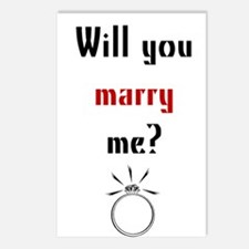 Will You Marry Me? Surprise Postcards (Package of