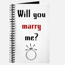 Will You Marry Me? Surprise Journal