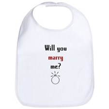 Will You Marry Me? Surprise Bib