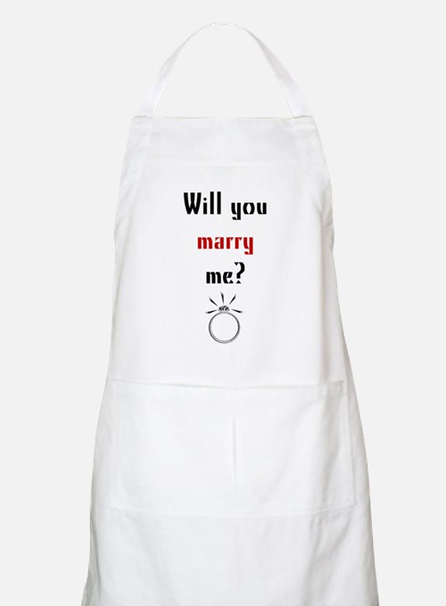 Will You Marry Me? Surprise BBQ Apron