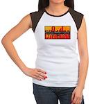 CARL G Women's Cap Sleeve T-Shirt