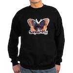 Vintage Distressed Superfly B Sweatshirt (dark)