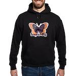 Vintage Distressed Superfly B Hoodie (dark)