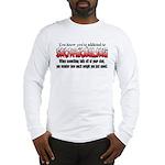 YKYATS - Parts Fall Off Long Sleeve T-Shirt