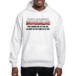 YKYATS - Parts Fall Off Hooded Sweatshirt
