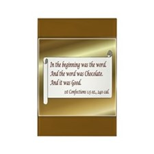 Chocolate Lovers Rectangle Magnet