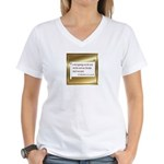 Chocolate Lovers Women's V-Neck T-Shirt