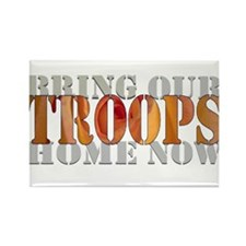Troops Rectangle Magnet