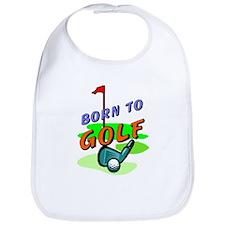 Born To Golf Bib