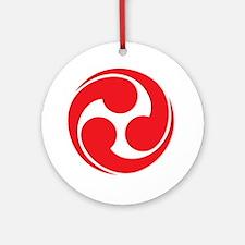 Shinto Tomoe [Cosmos] Ornament (Round)