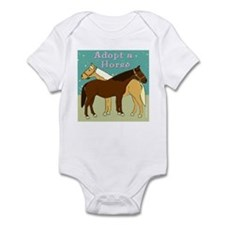 Adopt a Horse Infant Bodysuit