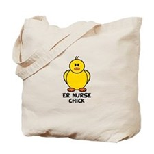 ER Nurse Chick Tote Bag
