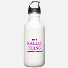It's a Kallie thin Water Bottle