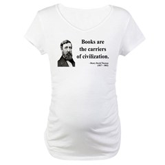 Henry David Thoreau 35 Maternity T-Shirt