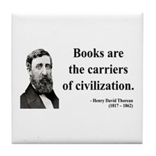 Henry David Thoreau 35 Tile Coaster