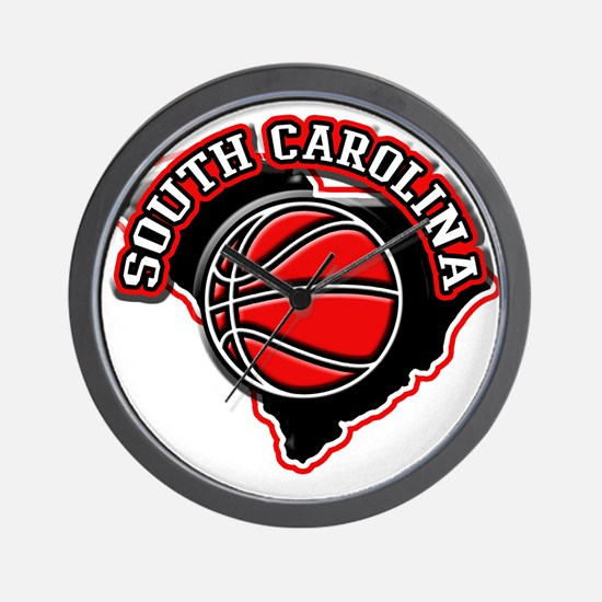 South Carolina Basketball Wall Clock