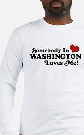 Somebody in Washington Loves me Long Sleeve T-Shir