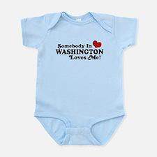 Somebody in Washington Loves me Infant Bodysuit