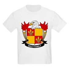 Macy Family Crest T-Shirt