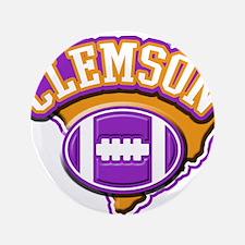 """Clemson Football 3.5"""" Button"""