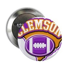 "Clemson Football 2.25"" Button"